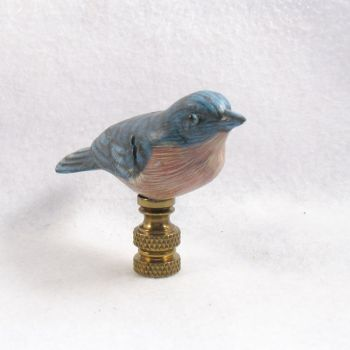 Bird Lamp Finial Bluebird Lamp Finials To Fit Any Decorating Style