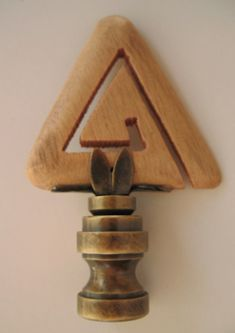 how to cut an equilateral triangle out of wood