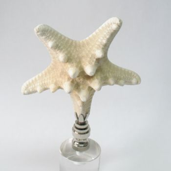 Lamp Finial Large Starfish Off White Lamp Finials To Fit Any Decorating Style